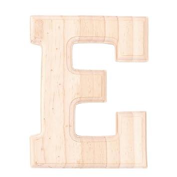 Sourcingmap Décoration Salon Anglais Bois Alphabet Lettre E-Liberté ...