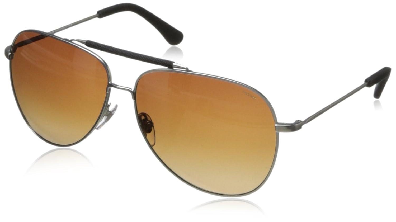 Jack Spade Men's Hopkips Polarized Aviator Sunglasses