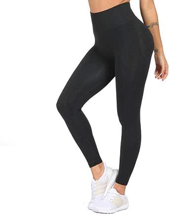 Women Yoga Pants Seamless Leggings Tummy Control Yoga Leggings High Waist Booty Leggings Sport Fitness Gym Leggings Athletic Tights