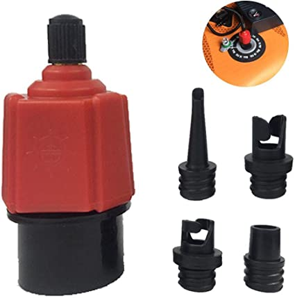 Sup Electric Pump Adapter Inflatable Boat Accessory Paddle Board Air Valve Tool