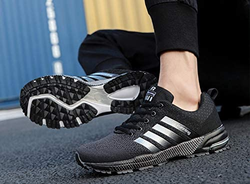 YZWD Zapatillas Running Hombre Oferta Deportivas Transpirables Fitness Casual Zapatillas Deportivas Volando Malla Tejida Transpirable Zapatillas Individuales 8.5 A: Amazon.es: Zapatos y complementos