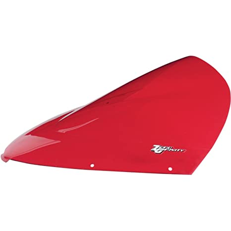 Zero Gravity Double Bubble Windscreen Red for Kawasaki Ninja 250R 06-08
