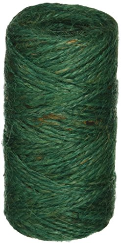 Bond 337 Jute Twine, Green, 200-Feet Length
