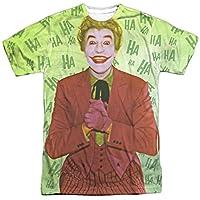 Trevco Men's Batman Classic TV Double Sided Print Sublimated T-Shirt, You White, Medium