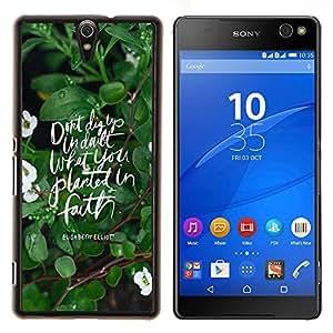 Dragon Case - FOR Sony Xperia C5 Ultra - My heart is with you - Caja protectora de pl??stico duro de la cubierta Dise?¡Ào Slim Fit