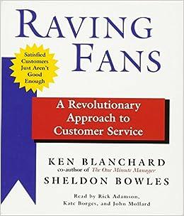 Raving Fans Ken Blanchard Pdf