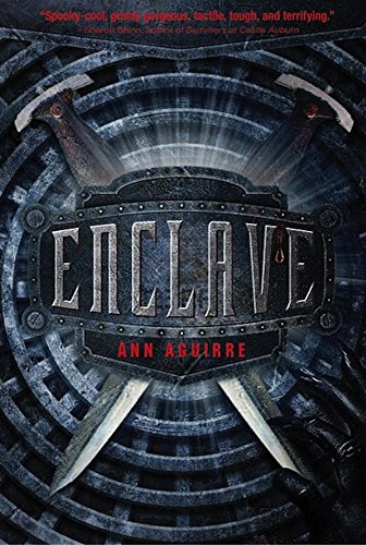 Image result for book cover enclave ann aguirre