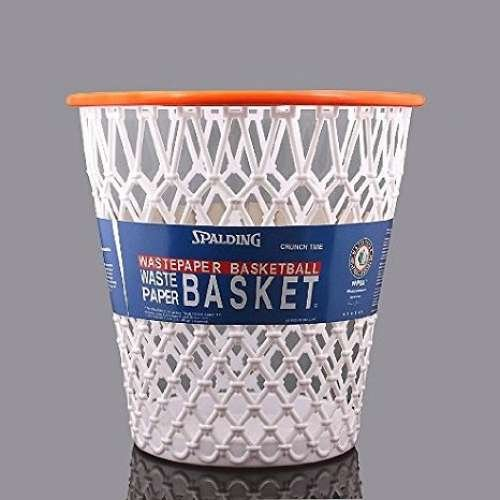 Spalding Basketball Wastepaper Basket (Basketball Basket compare prices)