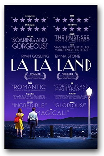 La La Land Poster - Movie Promo Flyer 11 x 17 LaLa Reviews