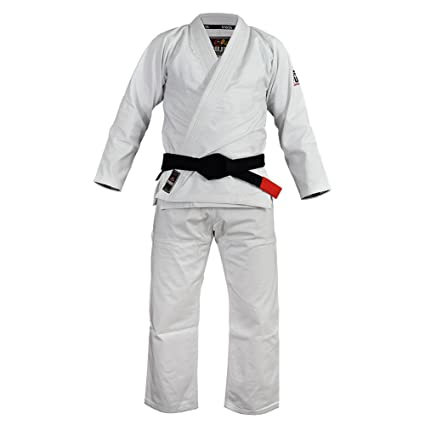 Amazon com : Fuji BJJ Lightweight Gi - White : Sports & Outdoors