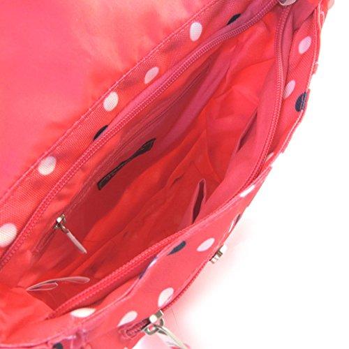 Borsa a tracolla Pepe Jeanspiselli rosa (23x20.5x8.5 cm).