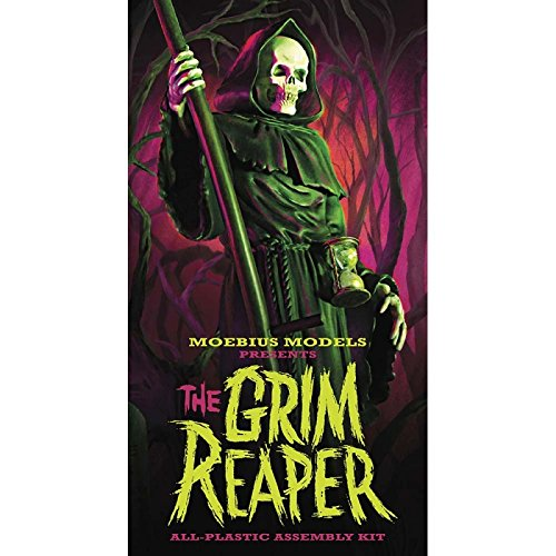 Moebius Models The Grim Reaper All Plastic Assembly Model Kit (Assembly Plastic)
