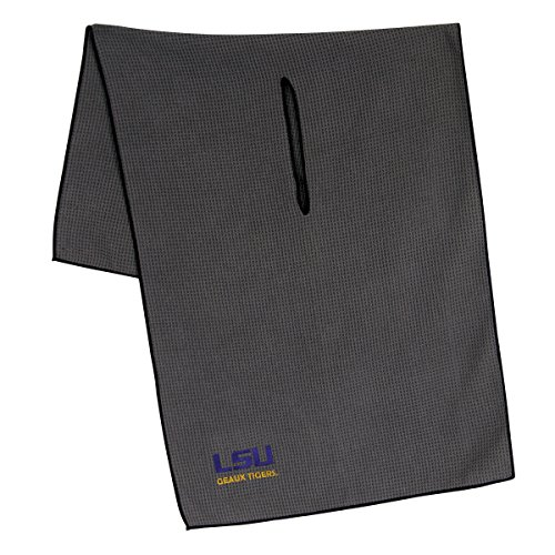 Team Effort LSU Tigers Grey Microfiber Towel