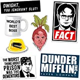 Daft Office Sticker Pack Schrute Farms Dwight Boss Mug Jello (7 Stickers Series 1)