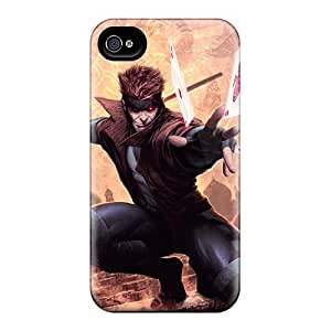 Tpu Case Cover For Iphone 4/4s Strong Protect Case - Gambit Design