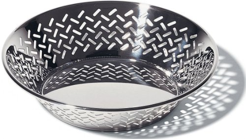 (Alessi Round Pierced Basket, Medium)