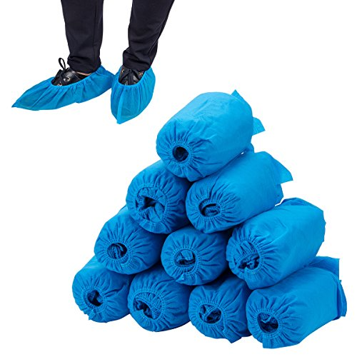 100 pcs Home Disposable Thick Boot & Shoe Cover (5g/pc) - Non-skid & Durable for Workplace, Medical, Indoor or Car Carpet Floor Protection by PAMASE (Image #6)