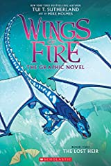 The New York Times bestselling Wings of Fire series soars to new heights in this graphic novel adaptation!The lost heir to the SeaWing throne is going home at last.She can't believe it's finally happening. Tsunami and her fellow dragon...