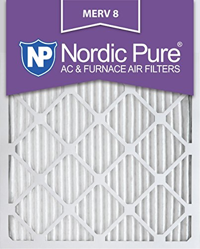 Pure 14x25x1M8-3 14x25x1 Merv 8 AC Furnace Filters Qty 3 [並行輸入品]