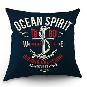 51sCu0ZgSuL._SS300_ 100+ Nautical Pillows & Nautical Pillow Covers