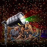 IMAXPLUS Christmas Outdoor Laser Light Projector with RGB Moving Stars Laser Show for Christmas,Holiday,Party,Landscape,and Garden Decoration