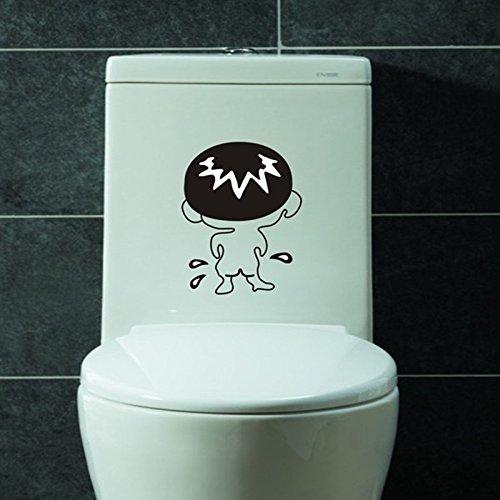 Decorative Wall Decal - Bathroom 3d Wall Stickers Toilet Sti