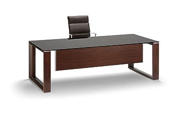 Schreibtisch Mit Glasplatte Arche Glasschreibtisch Design
