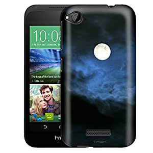 HTC Desire 320 Case, Slim Fit Snap On Cover by Trek Night Moon Case
