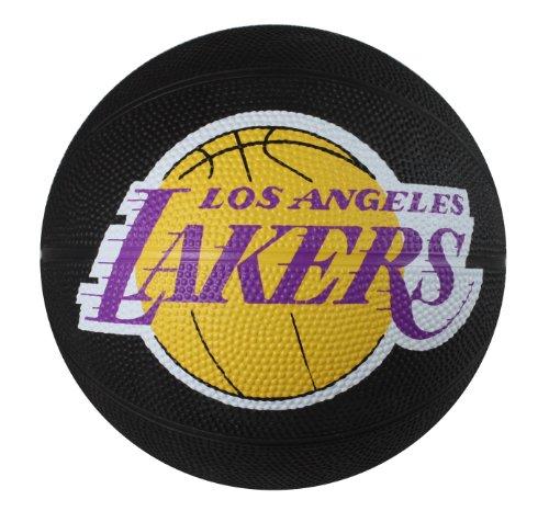 La Lakers Basketball - Spalding NBA Los Angeles Lakers Mini Rubber Basketball