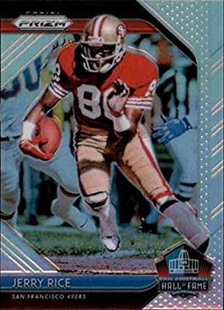 97c2aa7749e 2018 Panini Prizm Hall of Fame Prizm #8 Jerry Rice San Francisco 49ers NFL  Football