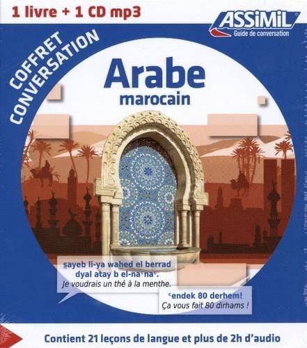 Coffret conversation Arabe Marocain (guide + 1 CD MP3) (Arabic Edition) pdf epub