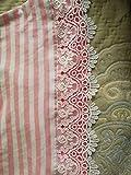 9CM Width Europe Crown Pattern Inelastic Embroidery