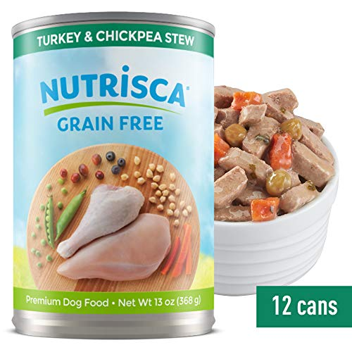 Nutrisca Turkey And Chickpea Dogswell Wet Dog Food, 13-Ounce, 1 Can