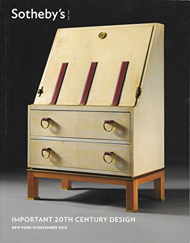 SOTHEBY'S IMPORTANT 20TH CENTURY DESIGN NEW YORK 15 DECEMBER (Teco Vase)