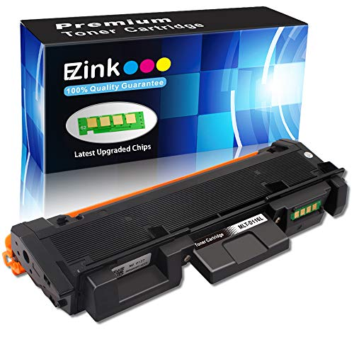 (E-Z Ink (TM) Compatible Toner Cartridge Replacement for Samsung 116L MLTD116L D116L MLT D116L to use with SL-M2625D SL-M2675F SL-M2825DW SL-M2835DW SL-M2875FD SL-M2875FW SL-M2885FW (1 Black))