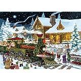 Whistle Stop- Biglietti di Natale, con 15biglietti e 16buste