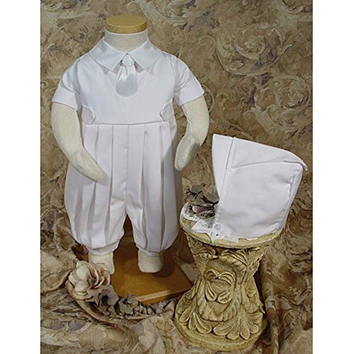 Bruno Gabardine Christening Romper by Little Things Mean A Lot