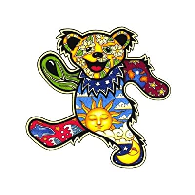 Dan Morris - Grateful Dead Dancing Bear - Sticker / Decal: Automotive [5Bkhe1404867]