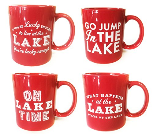 Lake Mug Set of 4 mugs - Lake Mug