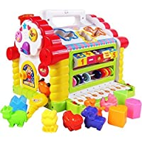 HOME BUY Colorful and Attractive Funny Cottage Educational Toy, Learning House - Baby Birthday Gift for 1 2 3 Year Old Boy Girl Child (Funny Cottage)