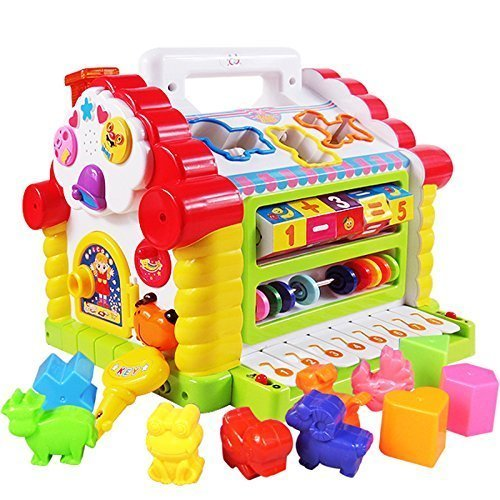 Smartcraft Colorful and Attractive Funny Cottage Educational Toy, Learning House - Baby Birthday Gift for 2 3 Year Old Boy Girl Child - Multicolor product image