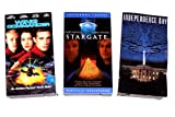 Sci-fi Video Collection (3pk): Wing Commander; Stargate; Independence Day