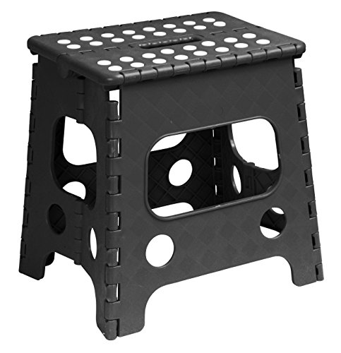 Superior Folding Stool 13 Inch Black Ehouseholds Com