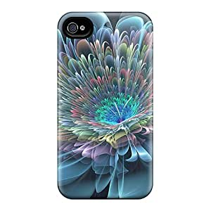 BlingCaseIn Design High Quality Multifacet Flower Cover Case With Excellent Style For Iphone 4/4s