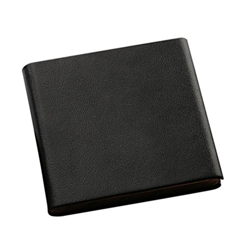 Inkach Cigarette Card Holder Storager Tobacco Cigarette Case Box Container (Black Cigarette Money Case)