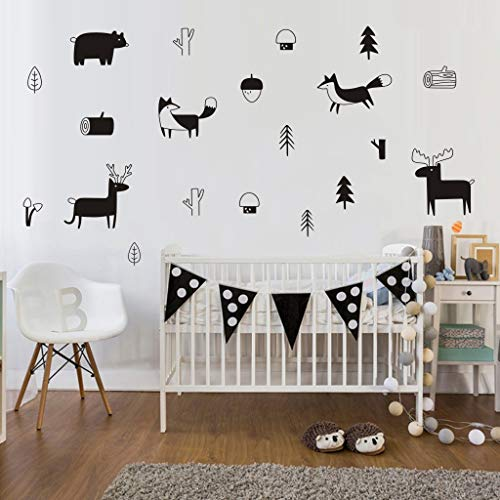 (Finedayqi  Tribal Animals Home Decor Wall Sticker Decal Bedroom Vinyl Art Mural)