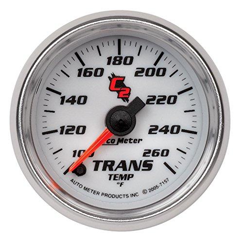 Auto Meter 7157 C2 Full Sweep Electric Transmission Temperature - C2 Full Sweep