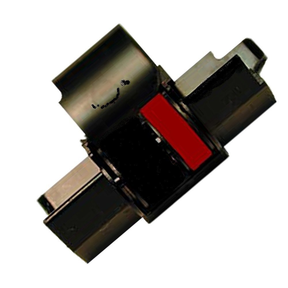 Farbbandfabrik Gr.745 - Rullo inchiostrante per Casio HR 150 TER, n. 745, colore: rosso/nero