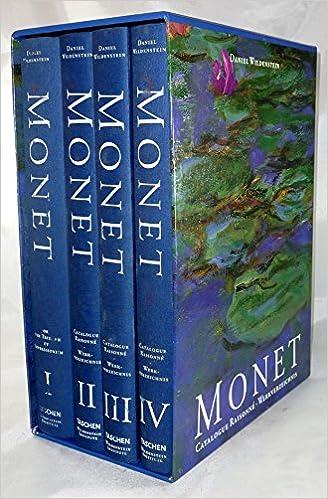 monet catalogue raisonne 4 volume set