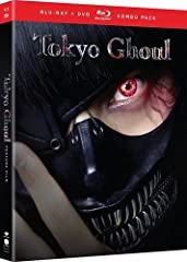 """Riddled with gripping fight scenes and tasteful gore, this adaptation of Tokyo Ghoul brings the popular manga series to life like never before.   Buried in books and a quiet life, Ken Kaneki is all but dead to the world in an age where fles..."